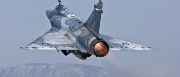 Турция сбила греческий истребитель Мираж 2000-5 Mk2