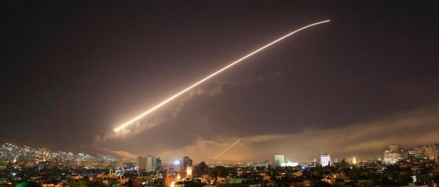 Сирия — ракетный удар США и ее союзников