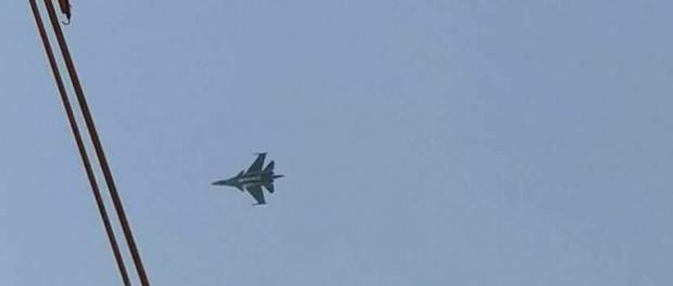 СУ-34 перехватил израильский F-16 над Ливаном