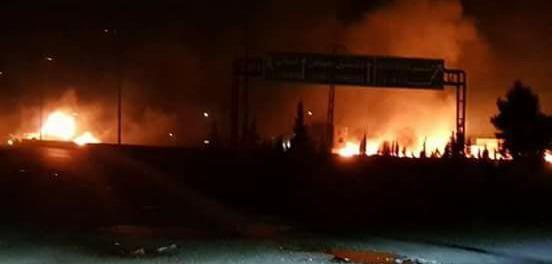 Появились первые фото по ударов Израилем и видео по Дамаску