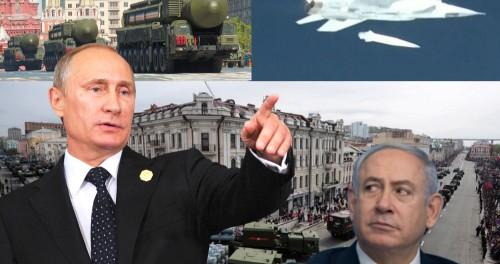 9-мая Путин объяснит Нетаньяху что с Россией не стоит воевать