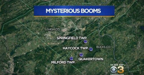 ФБР расследует Таинственные Бумы в Пенсильвании
