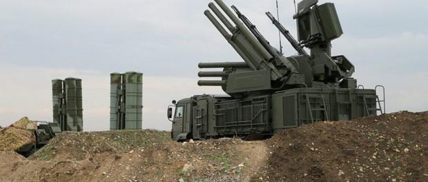 Панцирь С1 уничтожил БПЛА возле авиабазы Хмеймим