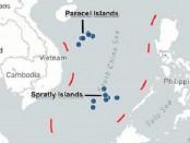Карта Южно -Китайского моря