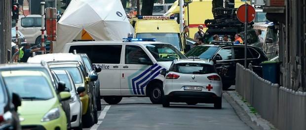 Двое полицейских, заложник и террорист были убиты в Бельгии (видео)