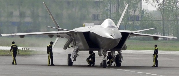 Китай испытал истребитель 5 поколения