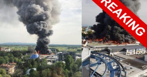 Поджог аттракциона в Германии — предупреждение США ЕС