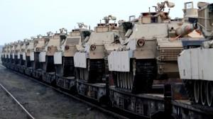 Новый эталон с танками в Европе