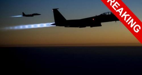 Американские истребители нанесли авиаудары по Сирии
