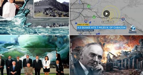 Две волны цунами затопят Америку