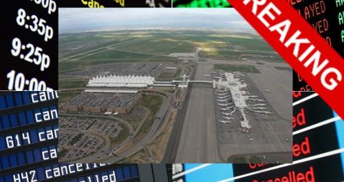 Аэропорт Денвера отменяет все рейсы. Землетрясение? Астероид и катастрофа? Атомная война?