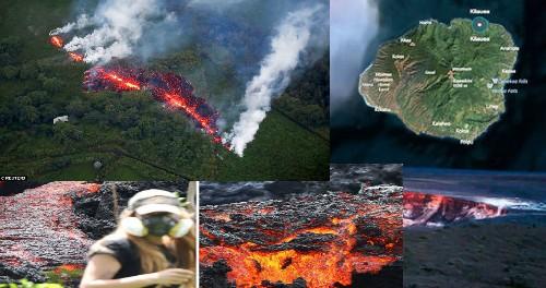 Гавайи: 17-я трещина, самая большая из 18. Пошел отсчет до Катастрофы
