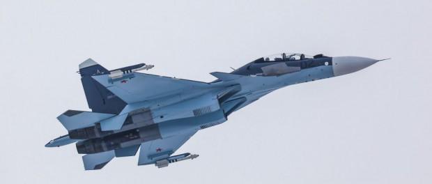 В Сирии упал русский штурмовик Су-30СМ: оба пилота погибли