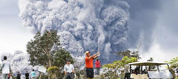 Гавайский вулкан Килауэа взорвался