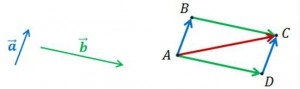 вектор силы и скорости