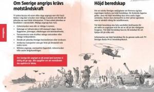 sweden шведское руководство, если придет война