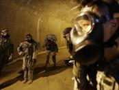 Армия США в противогогазах