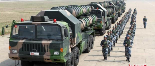 Могучий Китай слился в Южном-Китайском море против США
