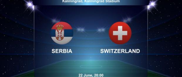Сербия против Швейцарии:1-2