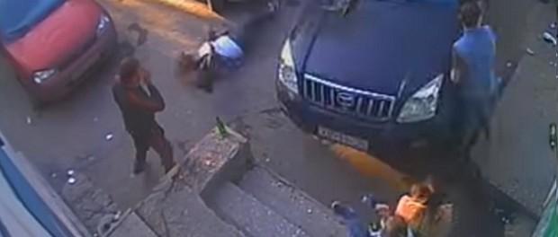 Пьяный водитель снес толпу людей в Полевском
