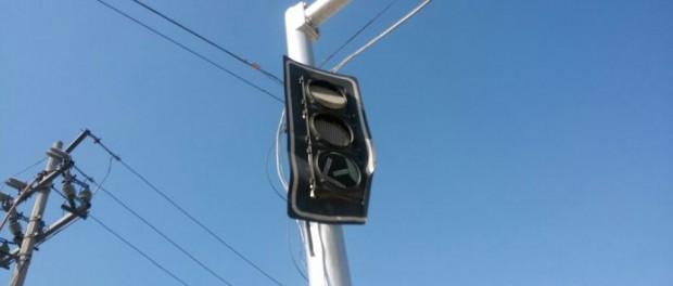 Что с погодой: в Мексике от жары начали плавиться светофоры