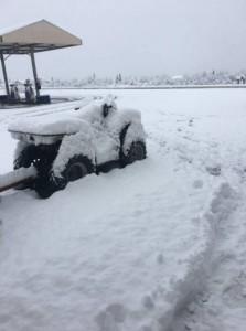 Снег на Аляске
