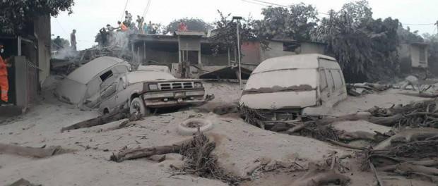 Гватемала: люди которые не смогли спастись от вулкана