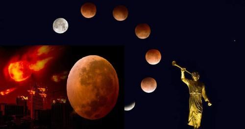 Жители страны убеждены: кровавая Луна — это Конец Света