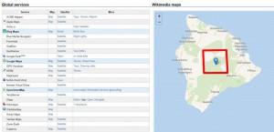 эпицентр землетрясения Гавайи
