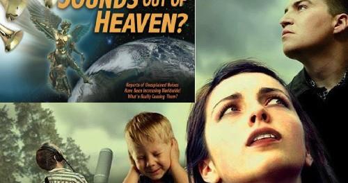 Странные звуки с неба опять пугают жителей. Так, что же это?