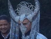 Барак Обама в одеянии Сатаны
