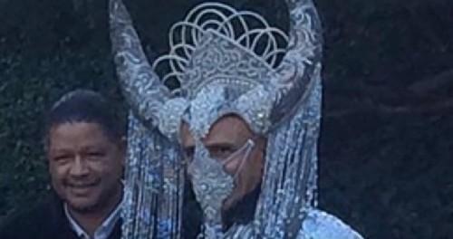 В сети появилось фото Барака Обамы в одеянии Сатаны