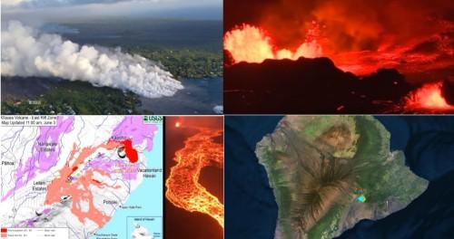 Гавайи разваливаются от 500 землетрясении в сутки