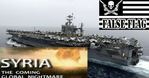 Авианосец USS Truman подошел к берегам Сирии для атаки и фальшлага