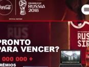 Cola-Cola раздает призы ЧМ по футболу 2018