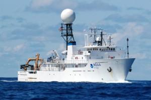 Okeanos Explorer с офисом NOAA