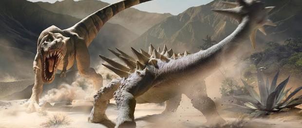 Кто стоит между людьми и динозаврами