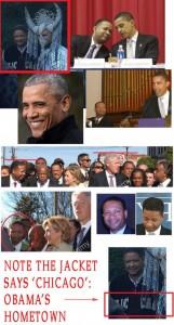 Обама в одеянии Сатаны