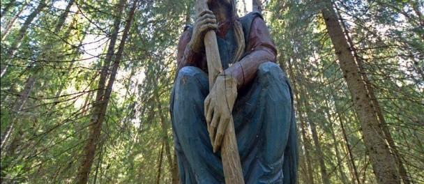 Сашу убила та самая ведьма в ступе из Лукоморья