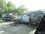 Трое детей и двое взрослых погибли в аварии на трассе Екатеринбург Пермь