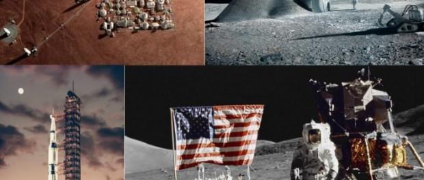 США давно уже построили базы на Луне