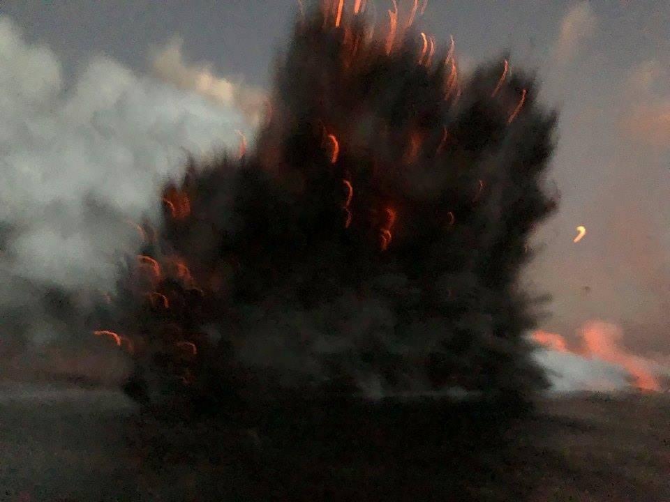 Взрыв Гаваийи вулкан