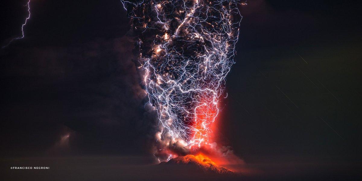 Гавайи Килауэа молнии