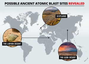 Карта ядерных взрывов