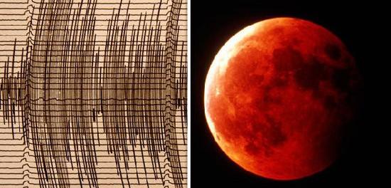 Мега — землетрясение может произойти в Кровавую Луну 2018