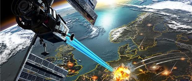 Депопуляция Греции: лазерный удар из Космоса и пожары