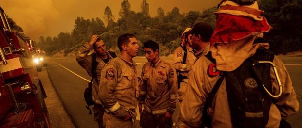 После Кровавой Луны Калифорния полностью в огне