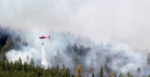 Пожары на Аляске