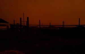 Солнце погасло в Якутии на три часа