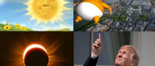 Зачем запускают Трампа в день солнечного затмения